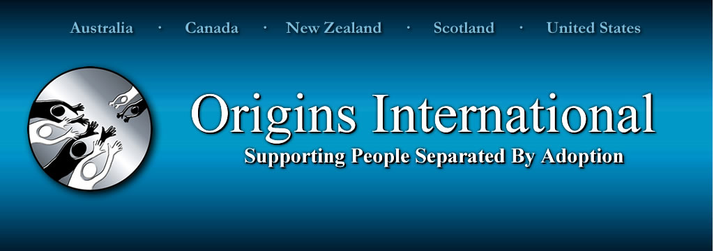 Origins International: Supporting People Separated by Adoption